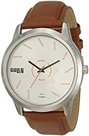 Gully by Timex Race Analog Silver Dial Men's Watch-TWGYG