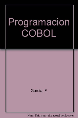 Programacion COBOL por F. Garcia
