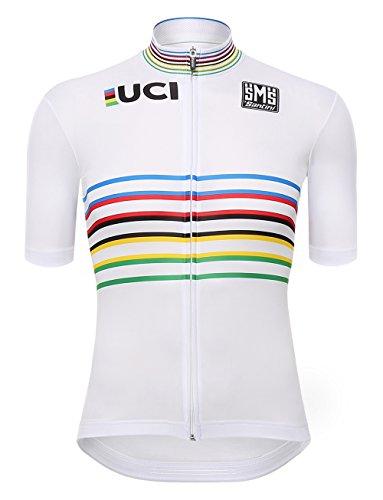Santini UCI, Trikot Kurzarm Herren M Mehrfarbig