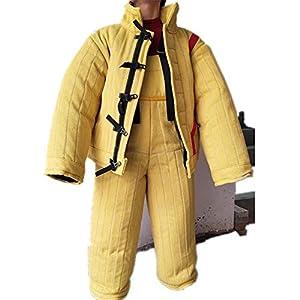 DYHQQ Dressage Chien Complet Costume de Morsure de Protection, Grande Protection du Corps