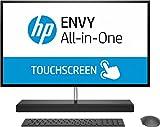 HP - PC ENVY 27-b200nl All-in-One PC 27-b200nl, Intel Core i5-8400T, RAM 16 GB, SATA 1TB, SSD 256 GB, Nvidia GeForce GTX 1050, Audio Bang & Olufsen, Schermo 27' QHD IPS Touchscreen, Argento Cenere