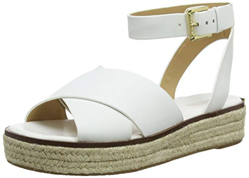 Michael Kors Damen Abbott Segelschuhe, Weiß (Optic White 085), 38 EU
