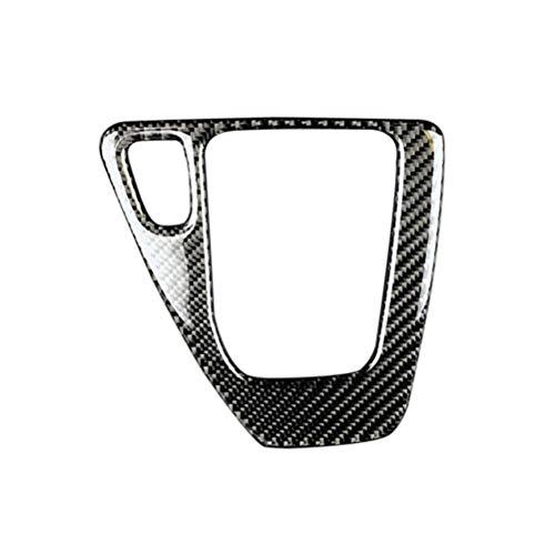 Auto Styling Getriebe Control Dekorative Aufkleber Carbon Fiber Mittelkonsole Dekorative Aufkleber für BMW 3 Serie E90 / E92 (Schwarz) (Bmw E92 Carbon Fiber)