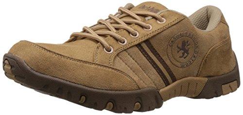 Action Men's Beige Running Shoes - 8 UK (A-364)