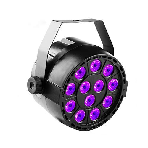 12 Lila UV-Lampe Licht Sound Control Led Färben Ktv Bar Strobe Light (9x10,5x11,5 cm) (Licht Bars Strobe)