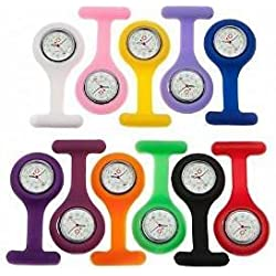 Nurses Silicone Fob Watch - Various Shades