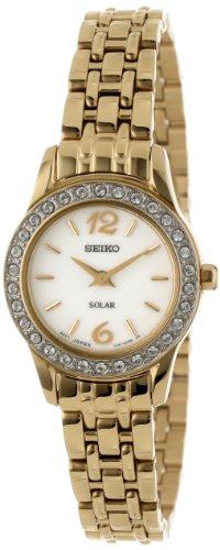 Seiko Watches SUP128 - Reloj de pulsera Unisex Mujer unisex, acero inoxidable