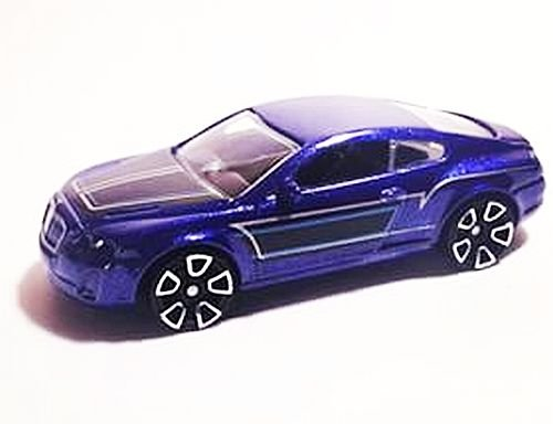 Preisvergleich Produktbild HOT WHEELS® Bentley Continental Supersports - 1:64 - nachtblau / schwarz metallic
