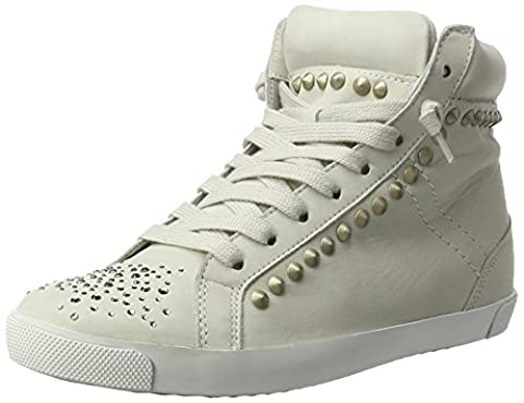 Kennel und Schmenger Damen Queens High-Top, Beige (Panna Sohle Weiss), 40 EU (6.5 UK)