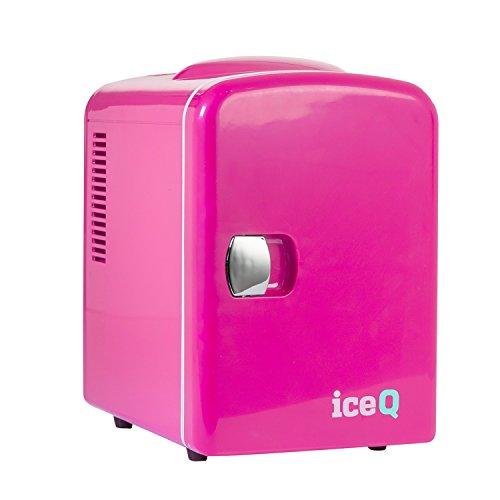 iceQ 4 Liter Minikühlschrank - Pink