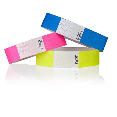 Premium KONTROLLBÄNDER / SECUREBÄNDER in allen Farben: 1000er Pack, Farbe: Blau