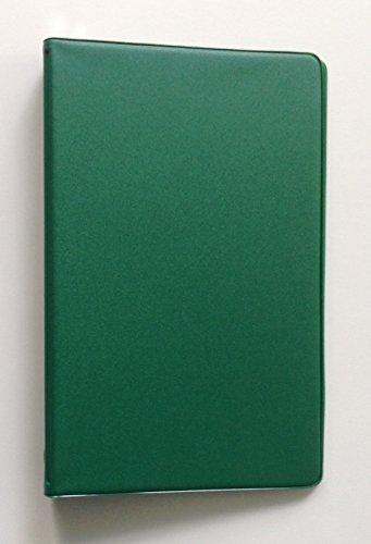 Mead attestiert klein 6-Ring-Grün Vinyl loseblattwerken Memo Notebook mit 6-3/4x 3-3/4-Zoll liniertes Papier (40Blatt) (Mead Notebook Binder)