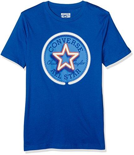 Converse Jungen T-Shirt Neon Chuck Patch Tee 13Y, Multicoloured (Soar), 12-13 Jahre (Shirts Converse Kleinkinder Für)