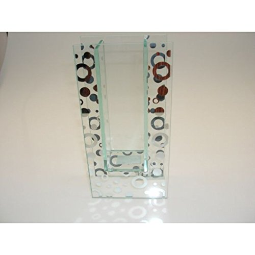 Jarrón de cristal muy decorativa 20cm