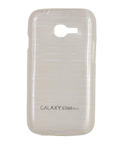 iCandy™ Soft TPU Shiny Back Cover For Samsung Galaxy Star Pro S7262 / S7262 - White  available at amazon for Rs.155