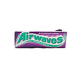 Wrigley's Airwaves Blackcurrant Chewing Gum (30 Packets (Full Box))