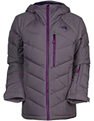 The North Face W Point It Down Hyrbid Jacket - Chaqueta para mujer, color gris, talla S