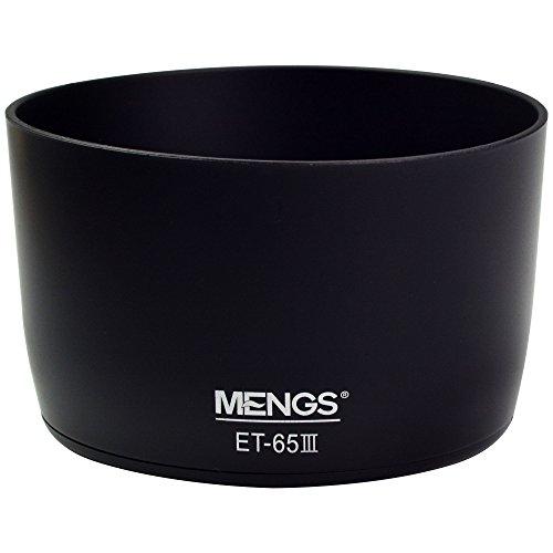 MENGS® ET-65 III parasoleil à baïonnette pour Canon EF 85mm f / 1.8USM, EF 100mm f / 2 USM, EF 100-300mm f / 4.5-5.6 USM, EF 75-300mm f / 4-5.6, EF 70-210mm f / 3.5-4.5 USM, EF 135mm f / 2.8 SF