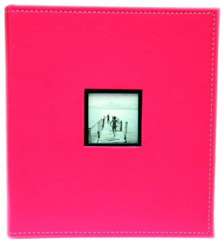 Swains International PLC, Album portafoto Coral Coast Prestige Slip-In für 200 Fotos à 13x18 cm pink