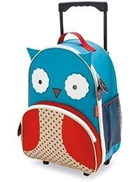 Skip Hop Zoo Little Kid, equipaje, búho por skcv9