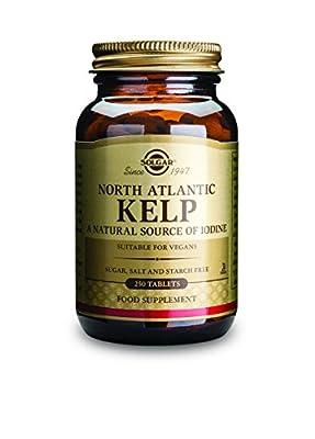 Solgar North Atlantic Kelp Tablets - Pack of 250 by Solgar