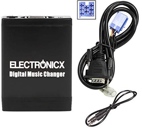 Electronicx Elec-M06-FA Digitaler Musik-Adapter USB SD AUX für FIAT, Lancia, Alfa Romeo Maserati 8 Pin autoradio Stereo