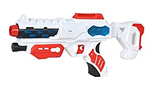 Simba 108042207-Planet Fighter Space Blaster Pistola láser, 38cm