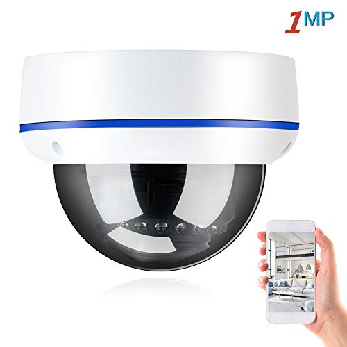 PTZ HD Dome Überwachungskamera, POE IP Kameras Home Security Kamera mit IP66 wasserdicht, Bewegungserkennung, 15m Nachtsicht, unterstützt ONVIF (2MP / 3MP / 5MP)