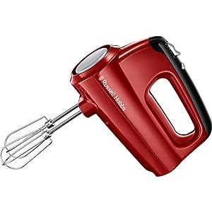Russell Hobbs Handmixer Desire, 5 Geschwindigkeitsstufen plus Turbofunktion, spülmaschinengeeignete 2 Rührbesen & 2 Knethaken, Handrührer 24670-56