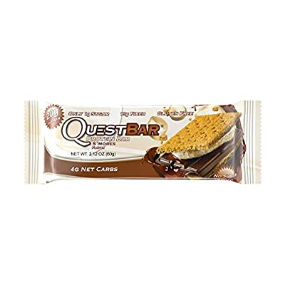 Quest Nutrition Cookies and Cream Quest Protein Bar by quest