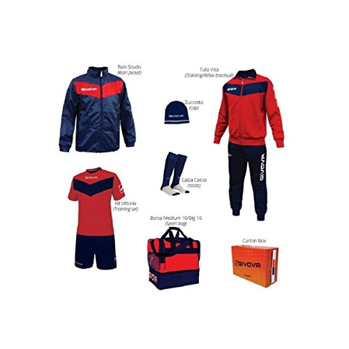 Givova Box Vittoria Kit Complet De Football