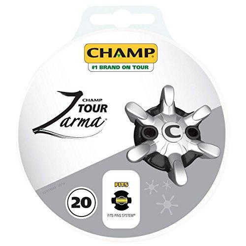 Champ Crampons de golf à Système Pin Zarma 20 pack mixte adulte 10 x 10 x 3 cm