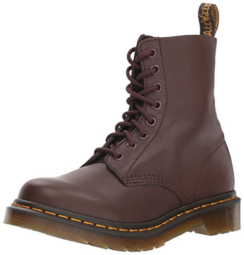 Dr. Martens 1460 Pascal, Stivaletti Donna, Marrone (Dark Brown 201), 39 EU