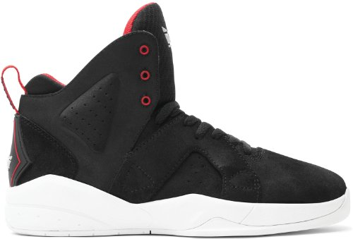 Supra Sneaker Black/Red/White