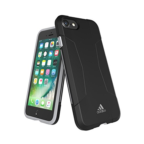 adidas Terrex - Solo Case iPhone 7 Plus Tactile Rose/Red Night - Custodia per iPhone 7 Plus / Cover Antiurto per iPhone 7 Plus - Custodia Cover per Cellulari da Palestra, Jogging, Running, Passeggiata Black / Grey - iPhone 7