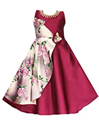 My Lil Princess Baby Girls Birthday Frock Dress_Glory Pink Frock_3-10 Years