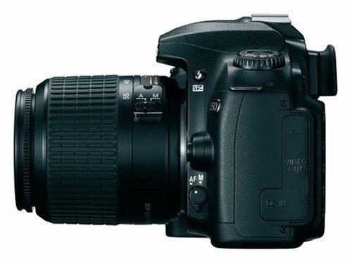 Nikon D50 SLR-Digitalkamera (6 Megapixel) schwarz + DX 18-55 - 2