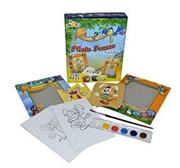 BEST SHOP Kids Photo Frame Making Art-Learning Toys