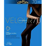 Omsa COLLANT VELOUR 70 DENARI NERO