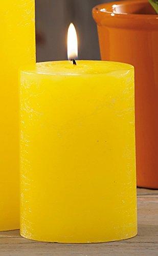 Bougie cylindre citronnelle D.7 x H10 40450