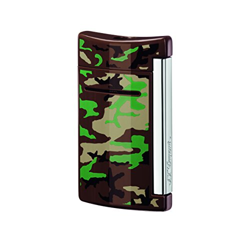st-dupont-mini-jet-lighter-brown-camouflage