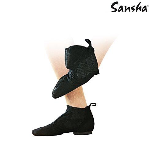 Sansha Jb9 C Lido Jazz Chaussures Noir Femme