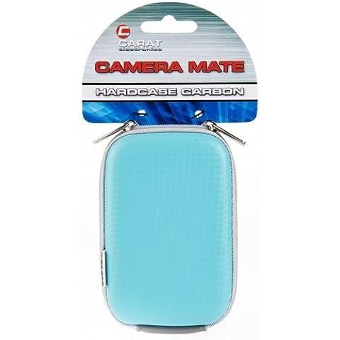 Carat Electronics Camera Mate - Funda con pasador para el cinturón (110 x 70 x 35 mm), color azul