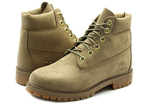 Timberland A1VDT 6 In Premium WP Stiefel Greige (Frauen Boots Timberland Winter)