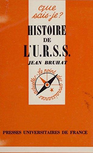 Histoire de l'U.R.S.S.