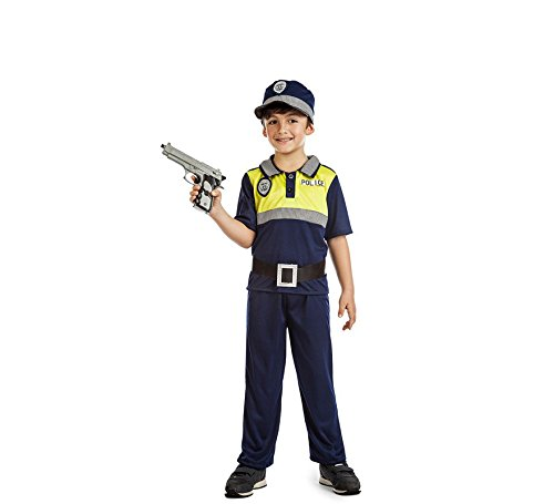 DISFRAZ POLICIA LOCAL NIÑO TALLA 5-6 AÑOS TAMAÑO INFANTIL