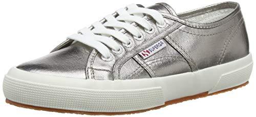 Superga 2750 Cotmetu, Damen Sneakers, Grau, 39.5 EU (6 UK)