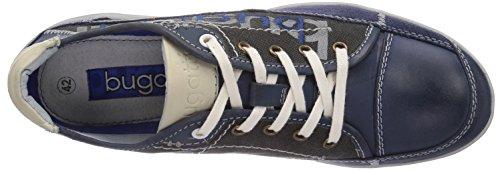 Bugatti F7704PR16 Herren Sneakers Blau (blau/swzr 401)