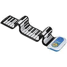 iBalody 49 Teclas de Mano Roll Up Piano Teclado Electrónico de Silicio con Función de Enseñanza