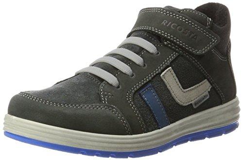 Ricosta Jungen Lennard Hohe Sneaker, Grigio, 00034 EU